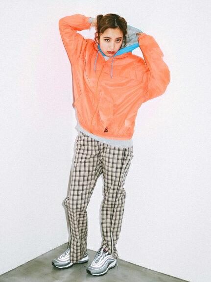 X-girl(エックスガール)PLAID JOGGER PANTS