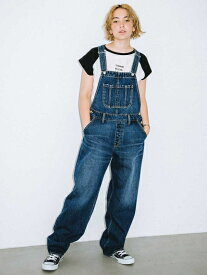 X-girl(エックスガール)WIDE TAPERED OVERALL