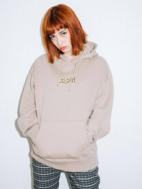X-girl(エックスガール)PATCHED SWEAT HOODIE