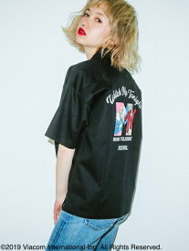 X-girl(エックスガール)X-GIRL X MTV S/S SHIRTS