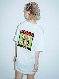 X-girl(エックスガール)X-GIRL X KOZIK BUNNY S/S MENS TEE