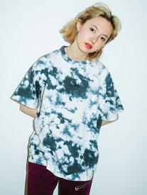 X-girl(エックスガール)【WEB限定】TYE-DYE S/S MENS TEE EC