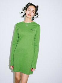 X-girl(エックスガール)COMPACT BASIC DRESS