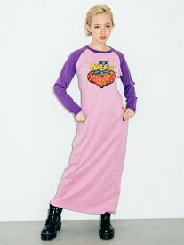 X-girl(エックスガール)X-girl × HYSTERIC GLAMOUR BERRY DRESS