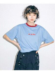 【公式】X-girl(エックスガール)ICE FIRE RINGER S/S TEE
