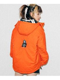 【公式】X-girl(エックスガール)REVERSIBLE HOODED JACKET
