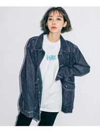 【公式】X-girl(エックスガール)DROP SHOULDER JACKET