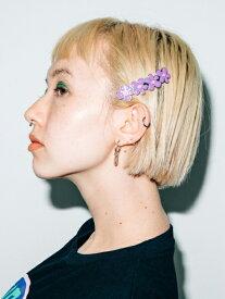 【公式】X-girl(エックスガール)NOSTALGIC FLOWER BARRETTE
