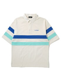 XLARGE(エクストララージ)S/S LINED RUGBY SHIRT