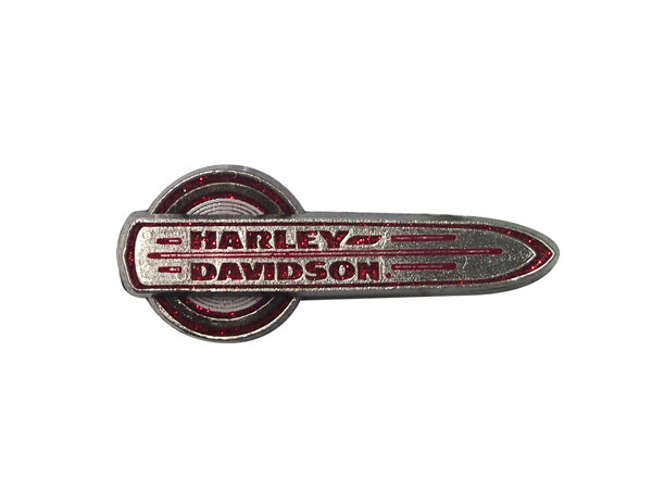 Harley-Davidson / ハーレーダビッドソン ガソリンタンクメタルエンブレム型 ピンバッジ