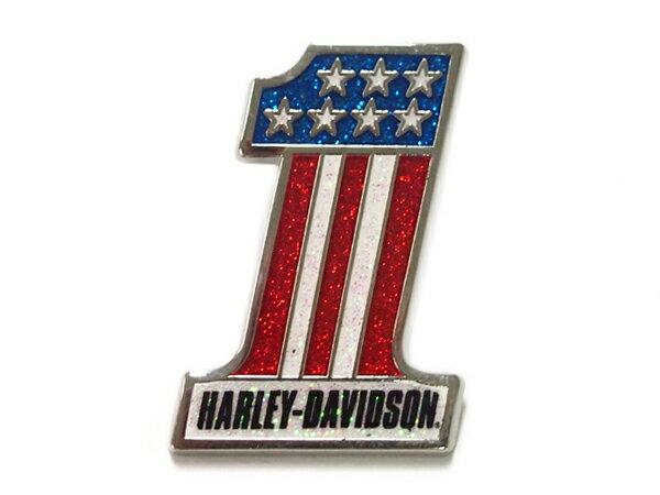 Harley-Davidson / ハーレーダビッドソン No.1ロゴピンバッジ