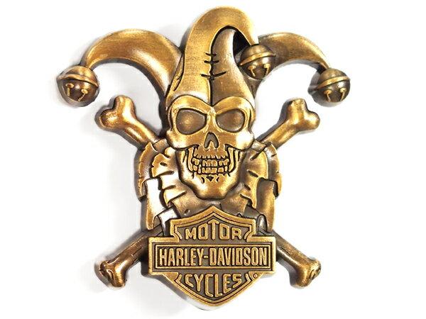 Harley-Davidson / ハーレーダビッドソン ロゴピンバッジ(クラウン・スカル)
