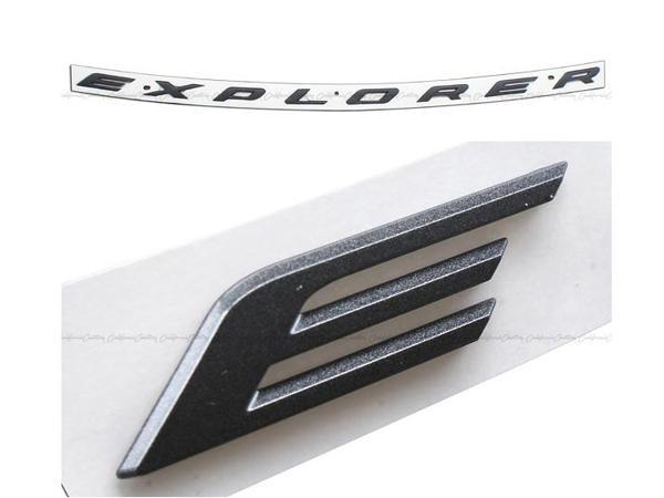 2011y- フォード エクスプローラー Sport ボンネットエンブレム『EXPLORER』
