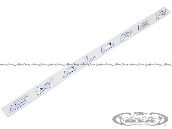 2011y- フォード エクスプローラー EXPLORER クロームボンネットエンブレム