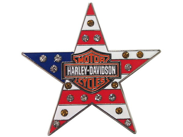Harley-Davidson / ハーレーダビッドソン スター with Bar & Shield ピンバッジ