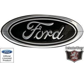 Defenderworx フォード ビレット リア エンブレム ブラック 7.25インチ エクスプローラー/エクスペディション/F-150 F150
