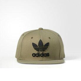 adidas アディダスオリジナルス正規品 トレフォイルスナップバック帽子 Men's Trefoil Chain Snapback Hat CAP OLIVE オリーブCH7295インポートブランド海外買い付け【楽ギフ_包装】[0118]