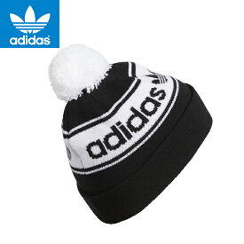 adidas ORIGINALSアディダスオリジナルス正規品 ニット帽 キャップ 帽子Pom Beanie Black CK2406ブラック並行輸入インポートブランド海外買い付け【楽ギフ_包装】[0219]