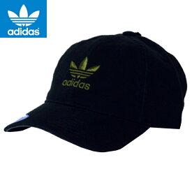 ADIDASアディダス正規品オリジナルス帽子CAPキャップMENS Originals Relaxed Strapbackストラップバック黒ブラック5144114インポートブランド海外買い付け正規[0519]