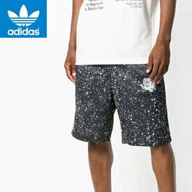 adidasアディダスオリジナルス正規品メンズ短パン ハーフパンツ星宇宙プリント ジャージPlanetoid Shorts DX6015アメリカ買い付けインポートブランド海外買い付け正規[0819]