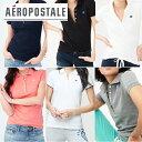 [再入荷]エアロポステール AEROPOSTALE ]レディース 12色 ポロシャツ 半袖POLO 鹿の子 A87 Pique Polo クールビズ【…