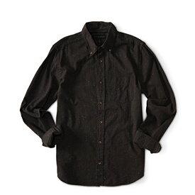 エアロポステール[AEROPOSTALE]シャツ Long Sleeve Solid Slub Woven Shirt カジュアルシャツ ボタンダウン 長袖シャツ 6234-5899-058 グレー grey floral