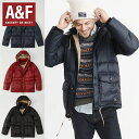 Abercrombie&Fitchアバクロンビーアンドフィッチ正規品メンズ フード付きダウンジャケットDown-Filled Puffer Coat(…