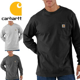 2b13a689 Carharttカーハート正規品メンズMen's Workwear Long-Sleeve Pocket T-Shirt ワークウェア