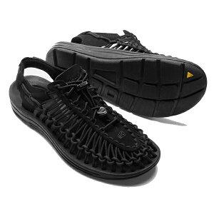 【再入荷】KEEN キーン正規品メンズサンダル ユニークMEN'S UNEEK BLACK/BLACK黒ブラック 靴 スニーカー1014097インポートブランド海外買い付け【楽ギフ_包装】[0718]