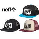 NeffMensCorpoTruckerHatネフメッシュキャップ帽子ハット16F00027【あす楽対応】【楽ギフ_包装】
