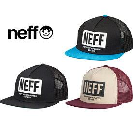 4289b85ab2739 Neff Mens Corpo Trucker Hat ネフ メッシュキャップ 帽子 ハット スノボ 16F00027 あす楽対応