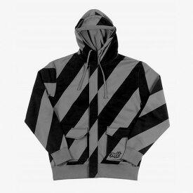【在庫売りつくし】neff[ネフ] 正規品 Candyland hoodie 黒 BLACK ブラック ジップアップパーカー メンズ フード スノーボードウェア スケートスノーボードウェア・ウエア・スノボ burtonバートン スケート【M】