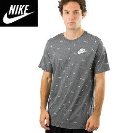 NIKE正規品ナイキ メンズロゴプリントTEEシャツ トレーニングウェア アスレチックカットソー Just Do It Tee (Dark Grey)グレー891878-071並行輸入インポートブランド海外買い付け正規[0519]