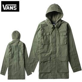 VANSヴァンズ正規品バンズ フード付きカバーオール ミリタリーアウタージャケット カーキオリーブグリーンOfficial Winter Jacket VN0A3HYCKCZ並行輸入インポートブランド海外買い付け正規[1119]
