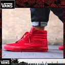 Vans ヴァンズSK8 Mono Red Skate Shoes バンズ スニーカー スケートハイCANVAS VN000TS9JGJ 赤い靴 レッド海外買い付け【あす楽対応】【楽ギフ_包装】[03