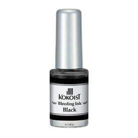 KOKOIST ココイスト ブリーディングインク BI-08 ブラック 5mL【★】 【RCP】 【.】【ネイル アート 絵の具 滲み ぼかし】