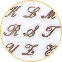 [メール便対応]エリコネイル イニシャル ゴールド ネイルシール【★】 【RCP】 【.】【ネイル パーツ ジェルネイル】…