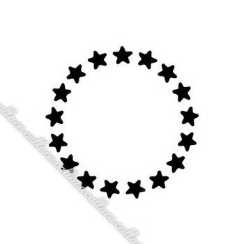 [メール便対応補償無]ネイルズマジック キラキラ ブラック スター 3mm【ポイント10倍】【税込5,400円以上送料無料】【RCP】 【.】【ネイル パーツ ジェルネイル】