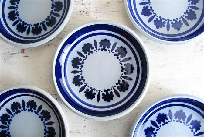 【中古】 ベルギー製 BOCH ボッホ Baltic プレート 21.5cm 陶器 磁器 お皿 ヴィンテージ アンティーク _171018