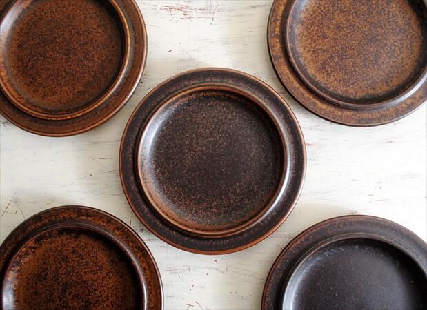 【中古】 ARABIA アラビア ルスカ 16cm プレート お皿 Ruska 北欧食器 フィンランド 陶器 北欧 ヴィンテージ アンティーク