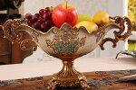 花瓶花器フラワーペース花入れアンティークコンポート薔薇置物オブジェ