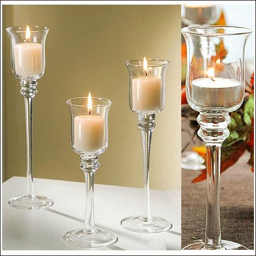 キャンドルスタンド キャンドルホルダー ガラス アンティーク風 シャビーおしゃれ かわいいキャンドルライト キャンドルスタンド(Sサイズ)北欧
