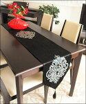 テーブルランナー北欧のテーブルランナーテーブルセンターゴージャスエレガント新居祝いラインストーン