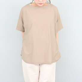 ラウンドヘムドルマンTシャツ ワイドTシャツ ニュアンスカラー sabbatum(サバタム)春夏 日本製 送料無料 SA-27101