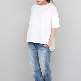 異素材パネル切り替えTシャツ 変形Tシャツ スリット sabbatum(サバタム) 春夏 日本製 送料無料 SA-27103