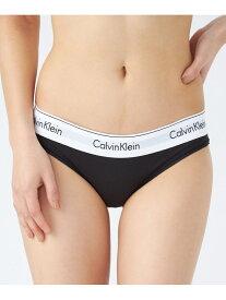 CALVIN KLEIN 【カルバン クライン アンダーウェア】 レディース ロゴ ブラトップ ブラ ブラジャー ブラレット ランジェリー モダンコットン ビキニショーツ F3787AD Calvin Klein Underwear カル[Rakuten Fashion]