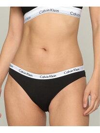 [Rakuten Fashion](W)CALVIN KLEIN 【カルバン アンダーウェア】 ビキニショーツ Calvin Klein Underwear カルバン・クライン インナー/ナイトウェア ショーツ ブラック ホワイト