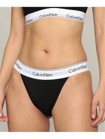 【カルバン クライン アンダーウェア】 レディース タンガ ショ Calvin Klein カルバン・クライン インナー/ナイトウェア ショーツ ブラック グレー[Rakuten Fashion]