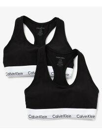 [Rakuten Fashion](W)CALVIN KLEIN 【カルバン クライン アンダーウェア】 Calvin Klein カルバン・クライン インナー/ナイトウェア ブラジャー ブラック グレー【送料無料】