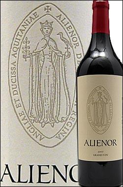 《アリエノール (エレノア)》 プロプライアタリー・レッド グラン・ヴァン [2012] Aliénor wines Proprietary Red Grand Vin Lake County 750ml [Alienor赤ワイン カリフォルニアワイン]